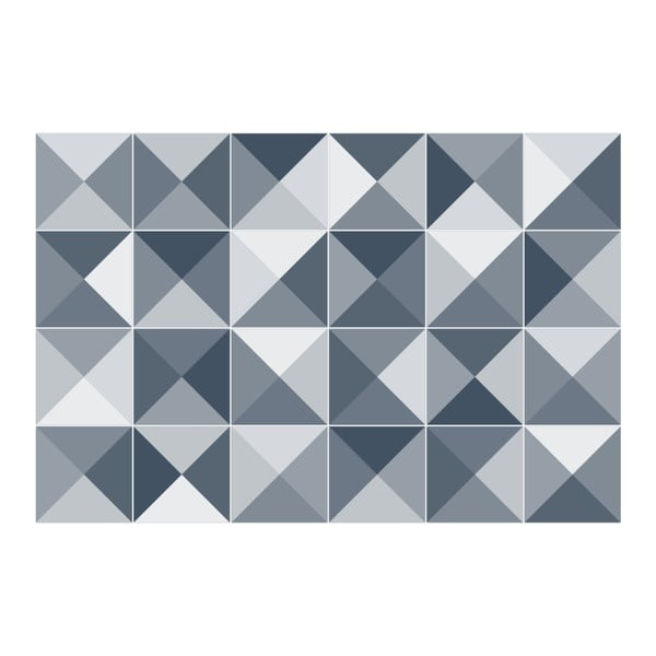 Set 24 autocolante Ambiance Azulejos Shades, 15 x 15 cm