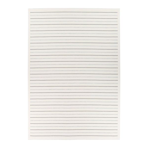 Covor reversibil Narma Vao White, 100 x 160 cm, alb