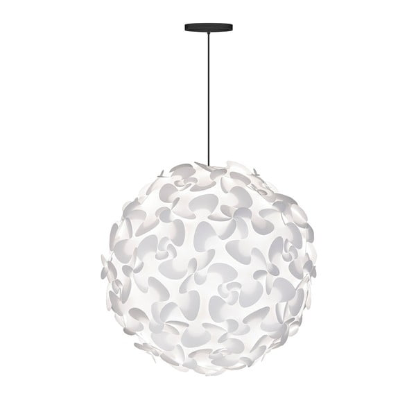 Bílé stropní stínidlo VITA Copenhagen Lora, Ø75cm