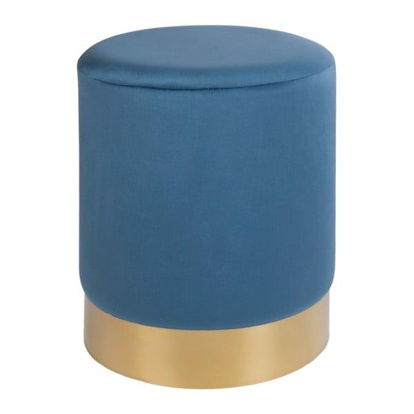 Gamby kék puff, ø34cm - House Nordic