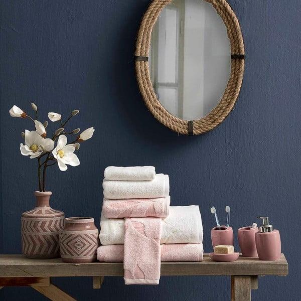 Prosop din bumbac Bella Maison Camilla, 30 x 50 cm, alb