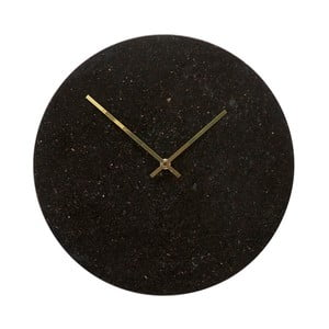 Nástěnné mramorové hodiny Hübsch Brandi, ø35cm