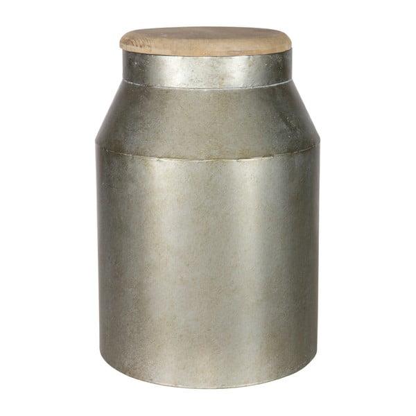 Dekorativní dóza BePureHome Barrel, výška39cm