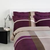 Povlečení na jednolůžko Square Purple 16, 140x220 cm