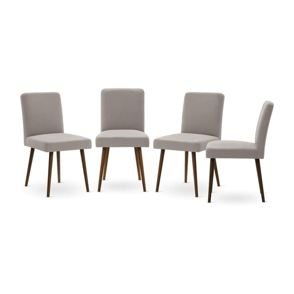 Set canapea albastru închis cu șezlong pe partea dreaptă, 4 scaune taupe și saltea 160 x 200 cm Home Essentials