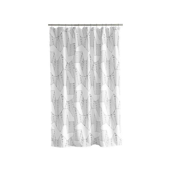 Sprchový závěs Mono white, 180x200 cm