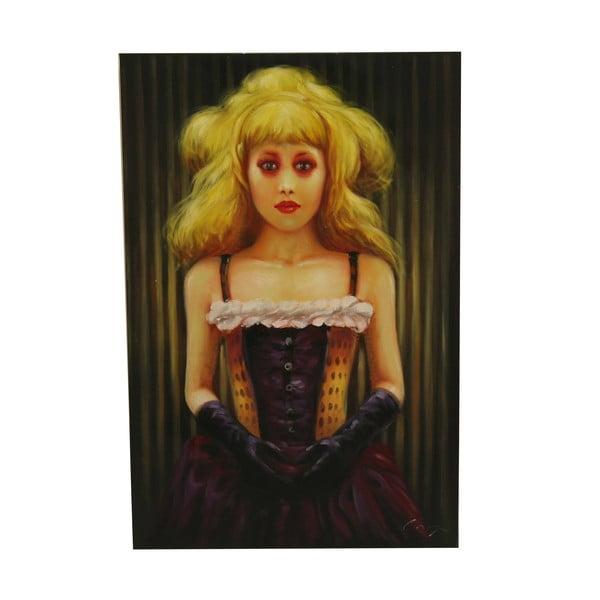 Olejová malba Jacqueline, 60x90 cm
