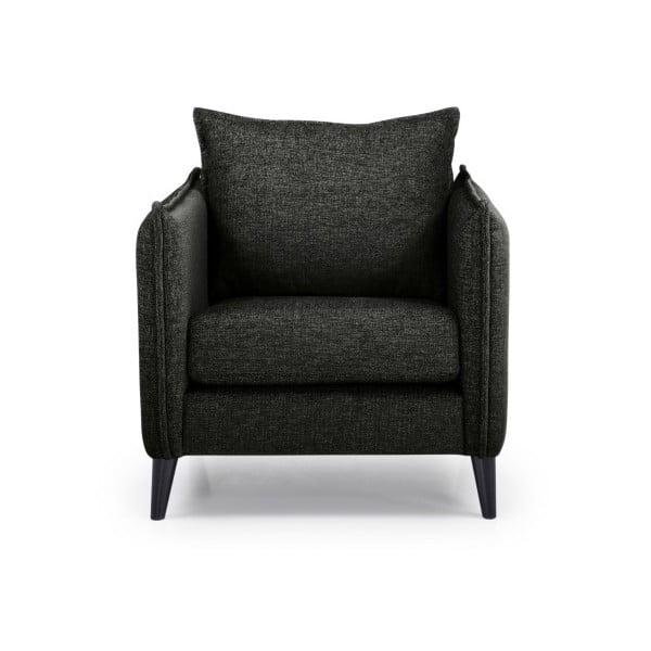 Leo fekete fotel - Softnord