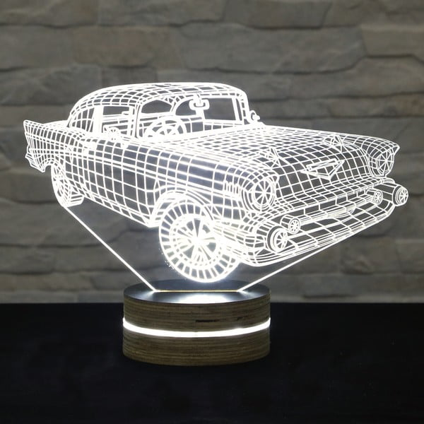 3D stolní lampa Super Car
