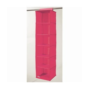 Organizator compartimentat suspendat Compactor Garment Hot Pink 6 Rack