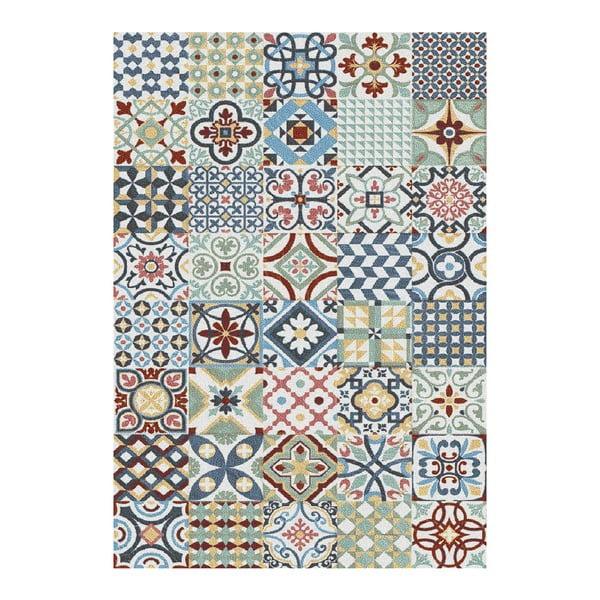 Niebieski dywan Universal Azulejos, 160x230 cm