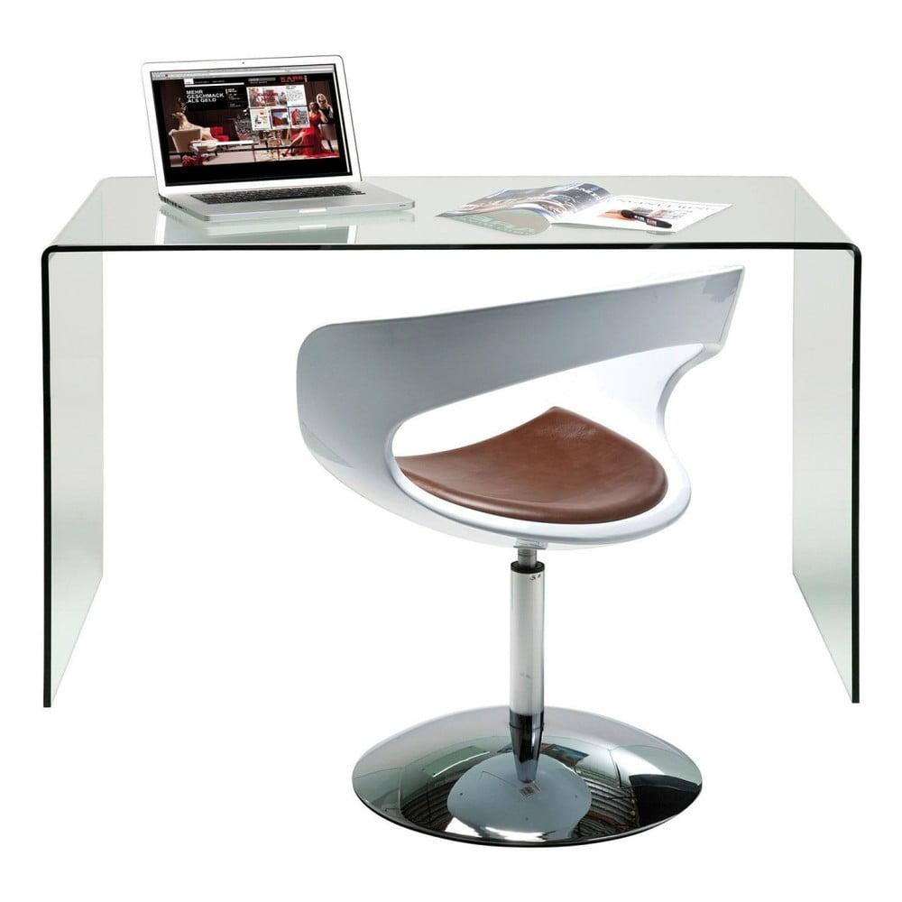 Skleněný pracovní stůl Kare Design Club