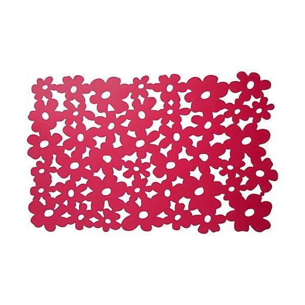 Set prostírání s růžovými květy, 2 ks