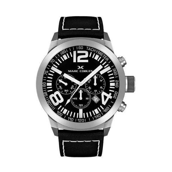 Unisex hodinky Marc Coblen s páskem a kroužkem navíc P109