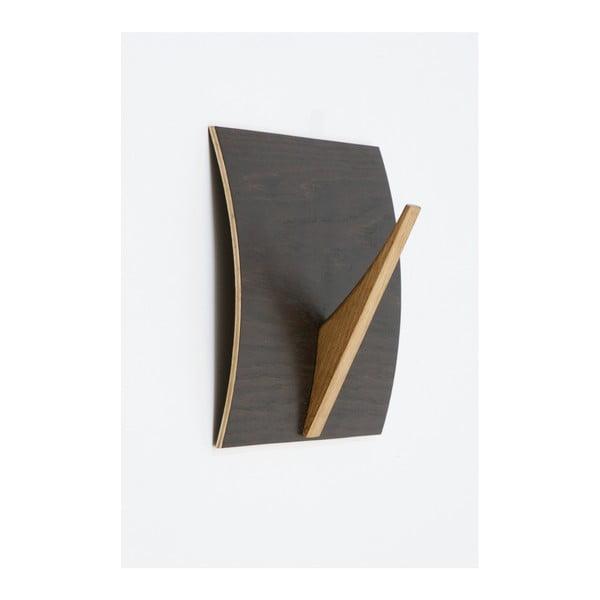 Rack Naki Black Oak tömörfa akasztó - Woodman
