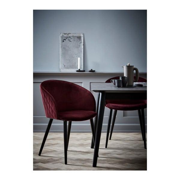 Tmavě růžová židle DAN-FORM Denmark Dual
