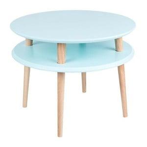 Světle tyrkysový konferenční stolek Ragaba UFO,Ø57cm