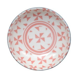 Bol Tokyo Design Studio Geo Eclectic, 9,5 x 3 cm, roz