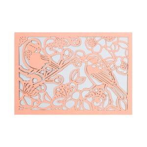 Set 10 felicitări cu plic  Portico Designs FOIL Birds