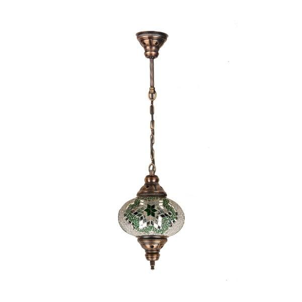 Skleněná závěsná lampa Single XII, 17 cm