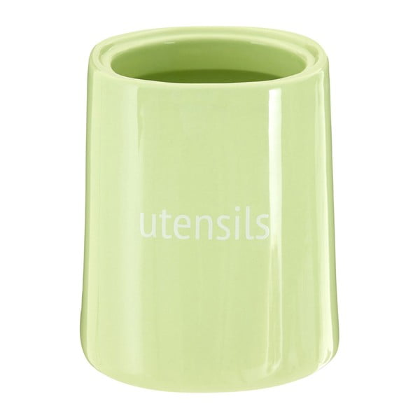 Zelená nádoba na kuchyňské nástroje Premier Housewares Fletcher, 800 ml