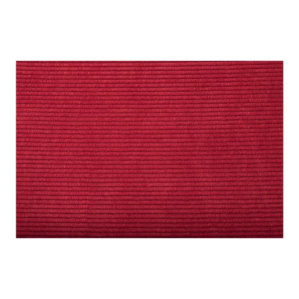 Set 2 scaune Zuiver Ridge Brushed Rib, roșu