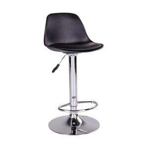 Černá barová židle House Nordic Trondheim