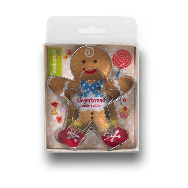 Sada 3 vykrajovátek Cooksmart ® Gingerbread