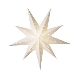 Dekorativní hvězda Bianco, 60 cm