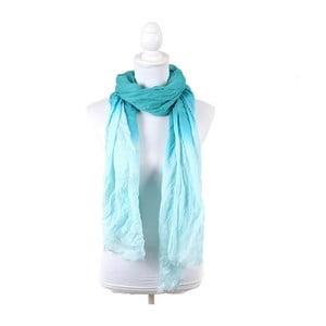 Šátek/pareo BLE Inart 100x180 cm, tyrkysový