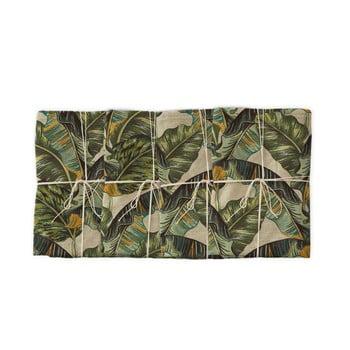 Set 4 șervețele textile Linen Couture Banana, lățime 40 cm imagine