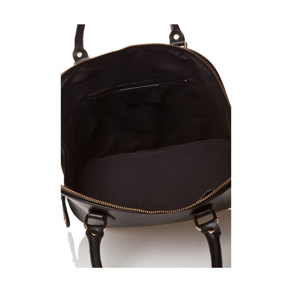 Kožená kabelka Miranda, černá