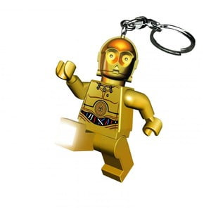 Svítící klíčenka LEGO® C3PO