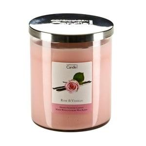 Lumânare parfumată Copenhagen Candles Rose & Vanilla, 70 ore