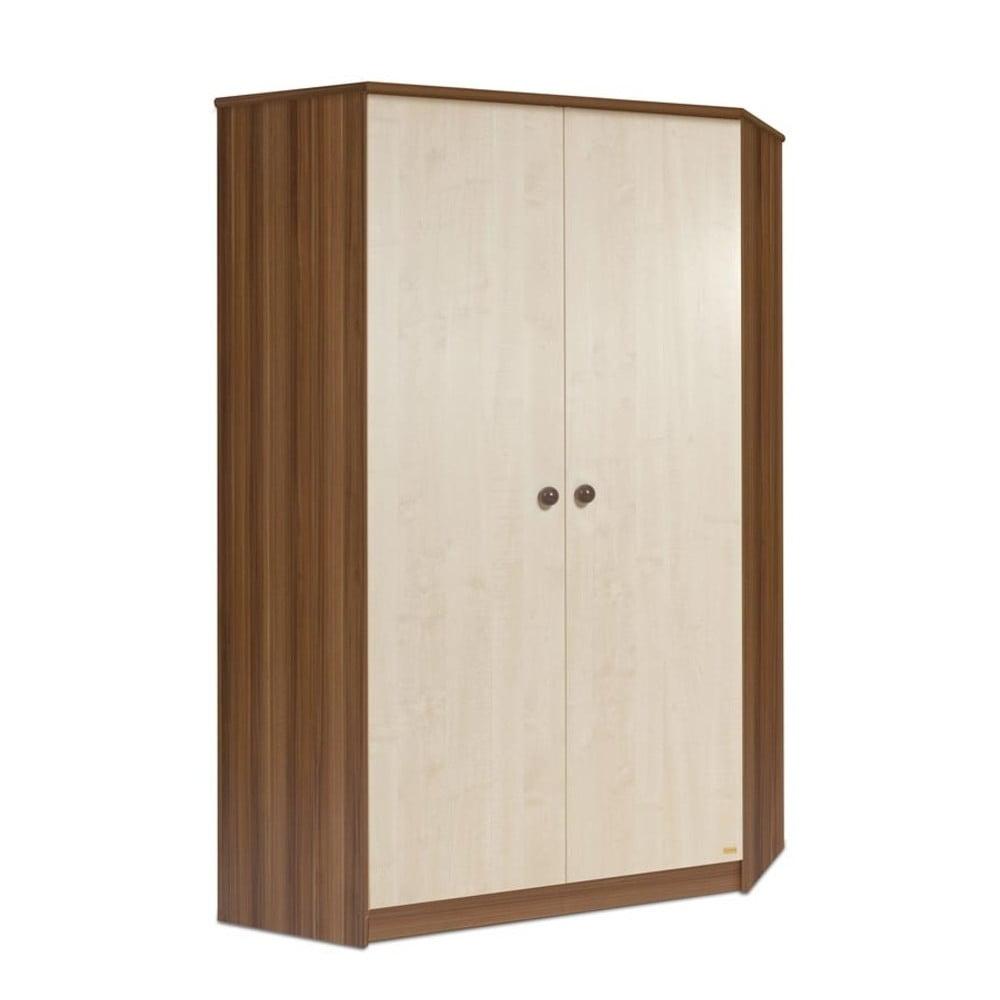 Rohová šatní skříň Faktum Makao