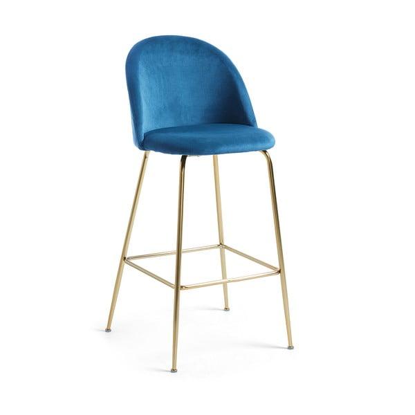 Modrá barová židle La Forma Mystere, výška 108 cm
