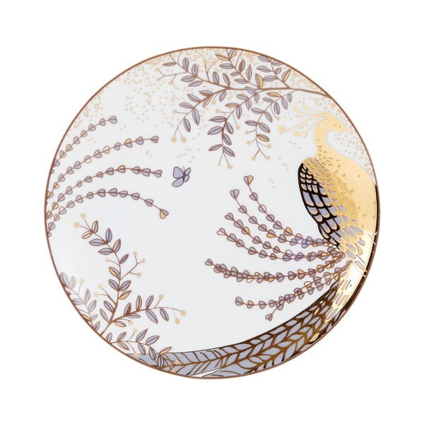 Sada 6 dezertních talířů Accademia Peacock