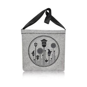 Plstěná vyšívaná taška Flos