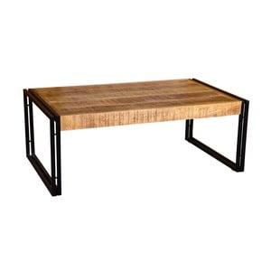 Konferenční stolek z mangového dřeva a kovu VIDA Living Orleans