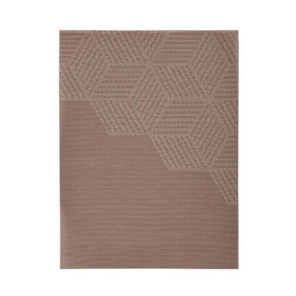 Hexagon bézs tányéralátét, 30x40 cm - Zone