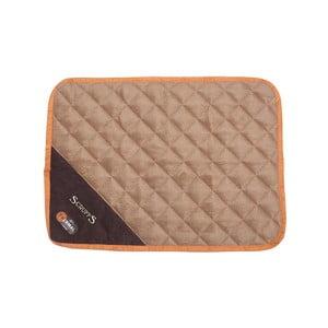 Psí termoizolační podložka Thermal Mat 60x45 cm, čokoládová