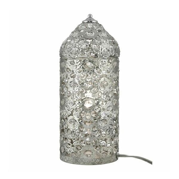 Stolní lampa Moroccan Shiny Nickel