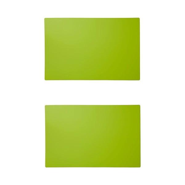Set zelených prostírání Louka, 2 ks