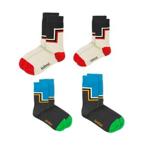 Sada 4 ponožek Love Pack Layer