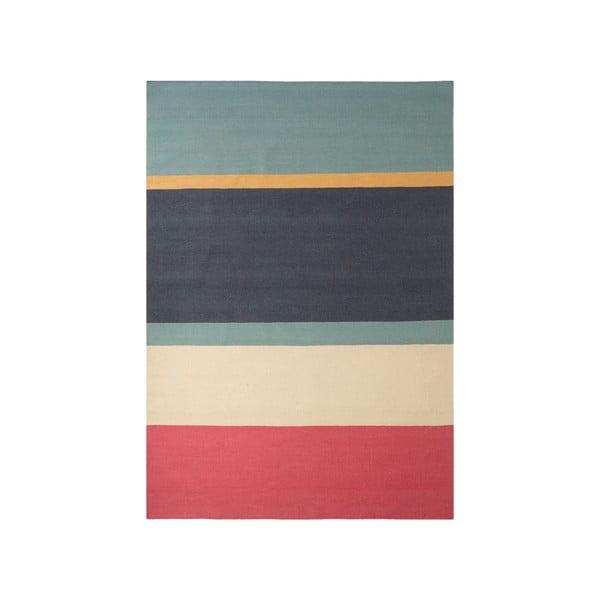 Ručně tkaný vlněný koberec Linie Design Lux, 80x150cm