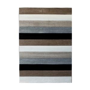 Šedohnědý koberec Tomasucci Lines, 140x190cm