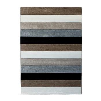 Covor Tomasucci Lines, 140 x 190 cm, gri maro de la Tomasucci