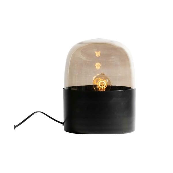 Černá stolní stojací lampa BePureHome Dome, ø 22 cm