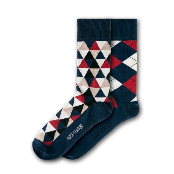 Sada 2 párů ponožek Black&Parker London Hyde Park, vel.37-43