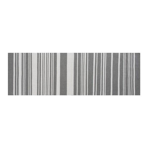 Bavlněný koberec Glorious, 140x200 cm, šedý